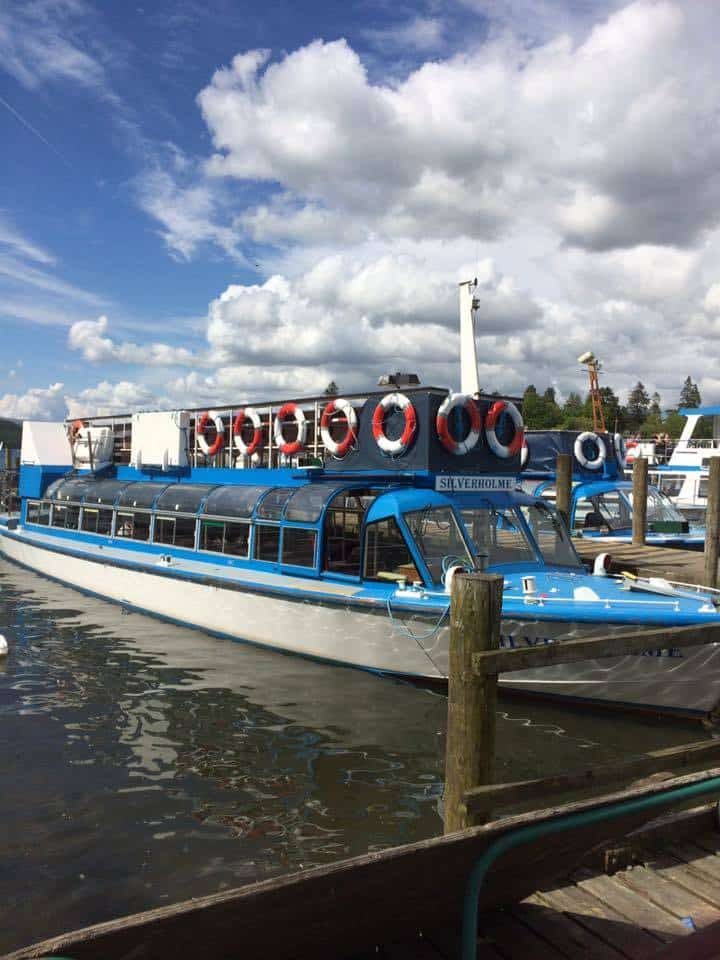 One of the Lake Cruise Boats