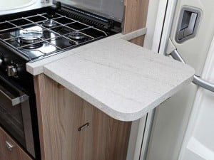 Swift Escape 696 Kitchen Counter Top
