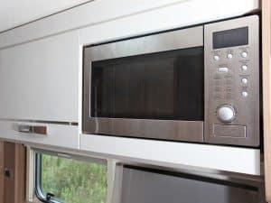 Swift Escape 696 Microwave