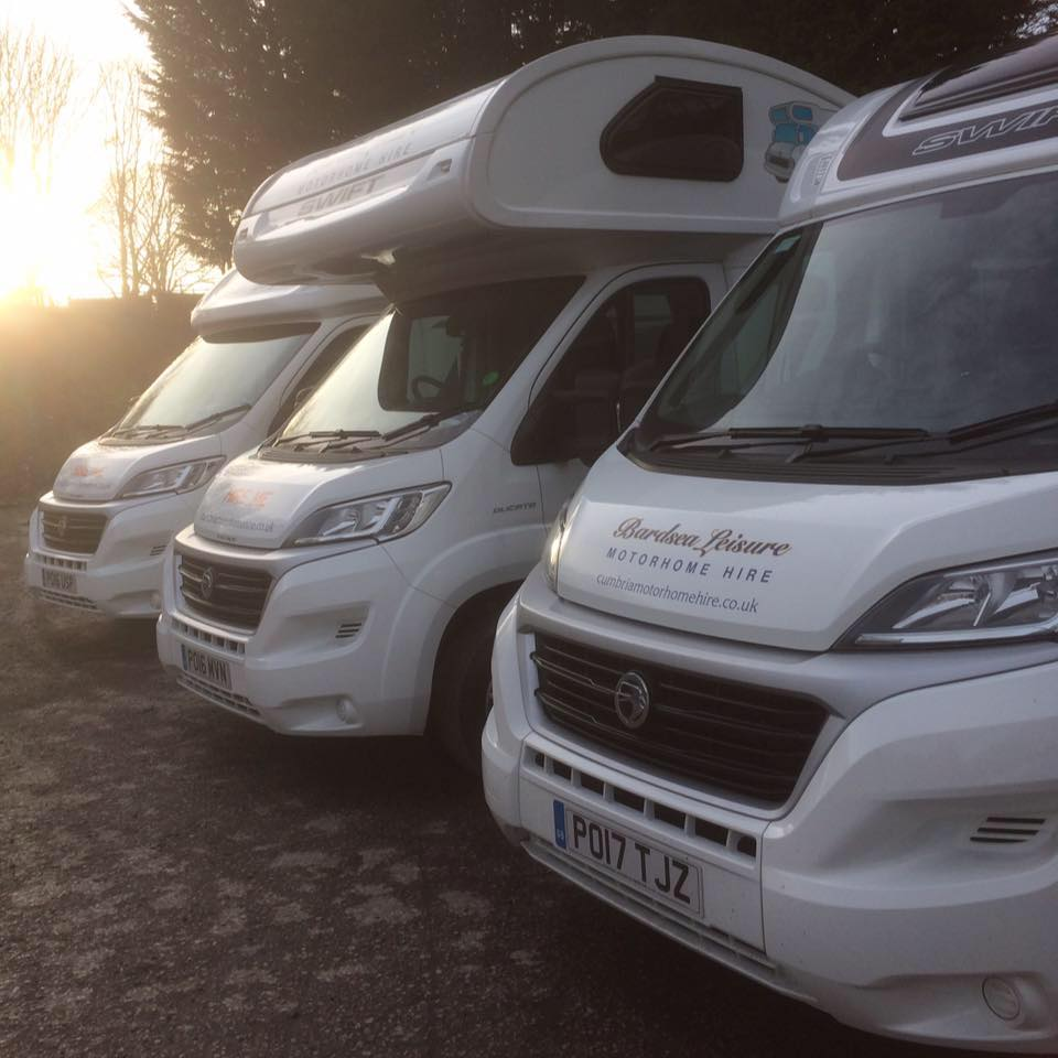 18d75cd84f Bardsea Leisure Motorhome Hire is located near Ulverston at Hill Foot  Garden Centre in Cumbria