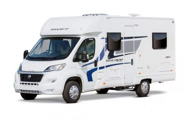 4 Berth Fixed Bed Motorhome Hire