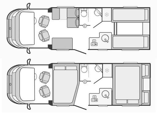 Swift Escape 684 layout
