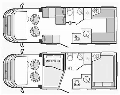 Swift Escape 685 layout
