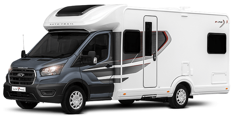 Cumbria Motorhome Hire Auto Trail F74 magnetic grey
