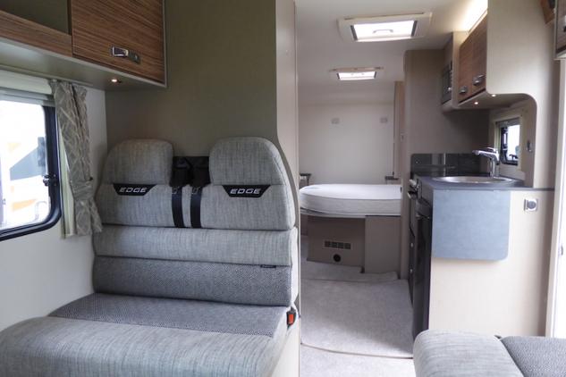 Swift Edge 494 interior