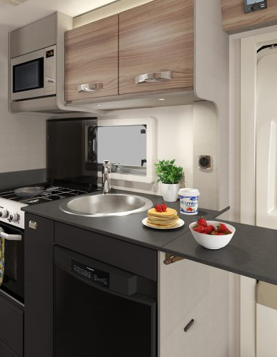 Swift Edge 494 kitchen